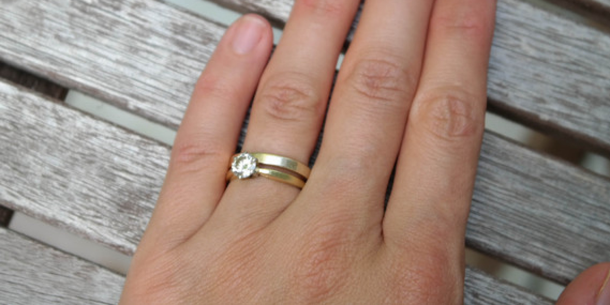 Why I Dont Wear My Engagement Ring HuffPost