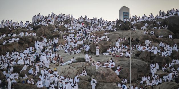 Les pèlerins ont afflué vers le mont Arafat