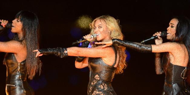 Destiny's Child: Kelly Rowland, Beyoncé und Michelle Williams (v.i.)
