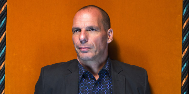 Yanis Varoufakis, former Greek finance minister, poses for a photograph at the Ambrosetti Forum in Cernobbio, Italy, on Saturday, Sept. 5, 2015. The three day workshop brings together politicians, company executives and economists to the event held in the Italian lakes. Photographer: Matthew Lloyd/Bloomberg via Getty Images