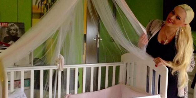 Hier schläft Daniela Katzenbergers Tochter, wenn sie bei Oma übernachtet