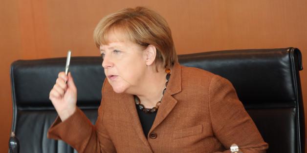 Merkels Zustimmungswerte bröckelt