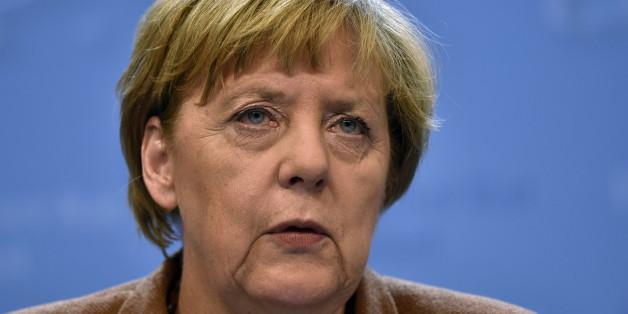Angela Merkel nach dem Sondergipfel in Brüssel