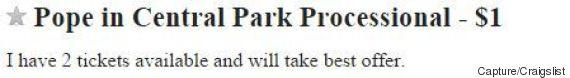 visite pape new york