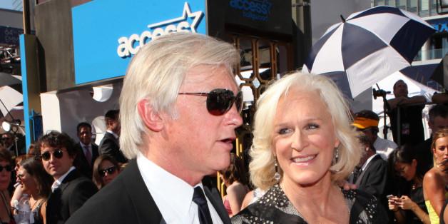 Glenn Close und David Shaw bei der Emmy-Verleihung 2012