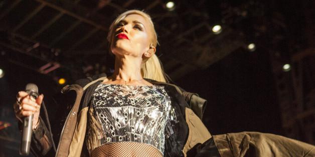 Gwen Stefani bei einem Auftritt mit ihrer Band No Doubt