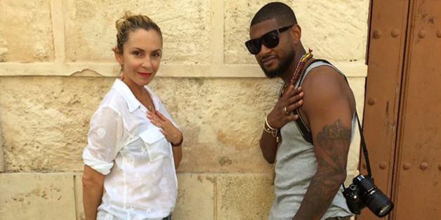 Usher und Grace Miguel während der Flitterwochen auf Kuba