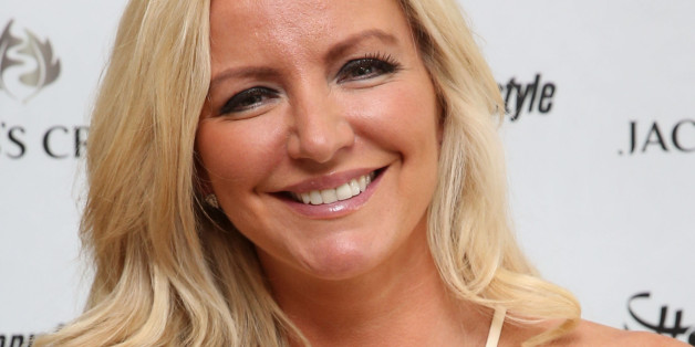 Michelle Mone arrives at the Jacobs Creek VIP marquee on day six of the Wimbledon Championships at the All England Lawn Tennis and Croquet Club, Wimbledon.