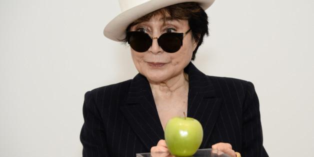 Aktionskünstlerin Yoko Ono.