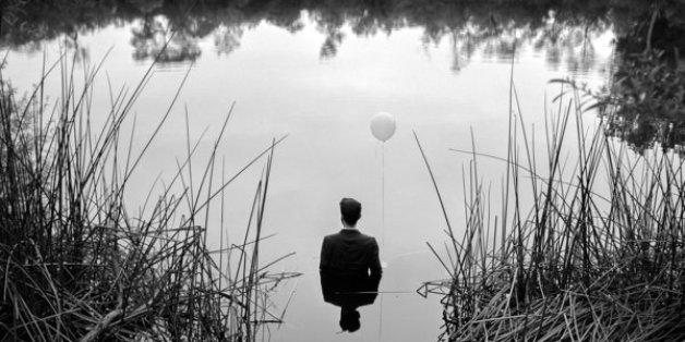 Edward Honaker zeigt die Auswirkungen von Depressionen