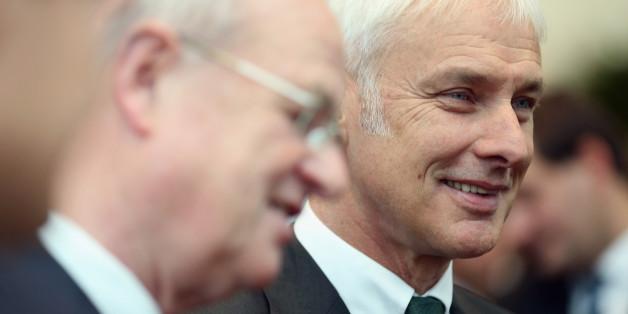 Ex-VW-Chef Martin Winterkorn und Porsche-Chef Matthias Müller