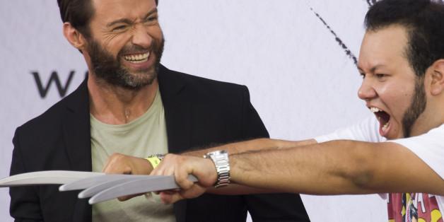 Hugh Jackman freut sich über seine Fans