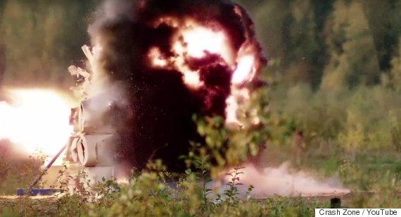 rocket launcher explosions