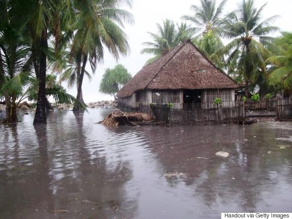 kiribati flooding