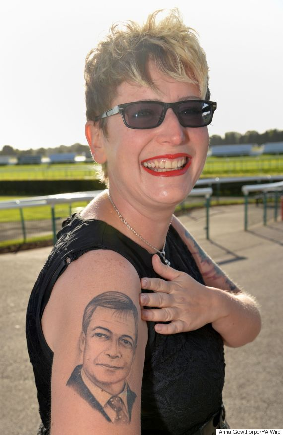 farage tattoo
