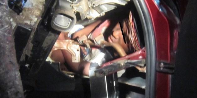 Un migrant caché dans le tableau de bord d'une voiture tente de rejoindre Melilla