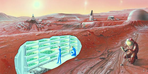 Avant le voyage sur Mars, il faut aussi prévoir comment (sur)vivre sur place