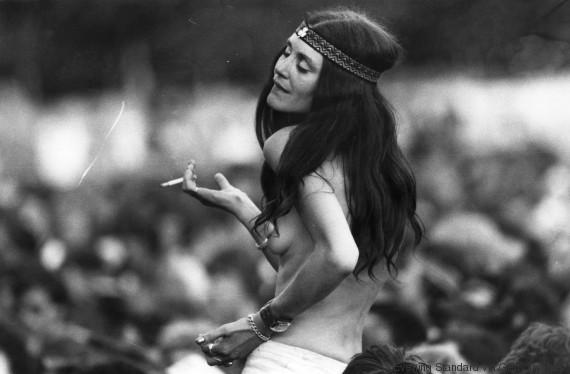 hippie nude