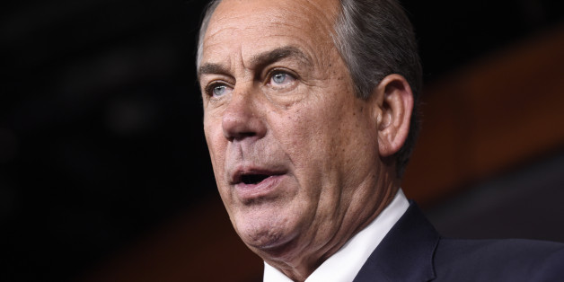House Speaker John Boehner of Ohio speaks during a news conference on Capitol Hill in Washington, Wednesday, July 29, 2015. An effort by a conservative Republican to strip Boehner of his position as the top House leader is largely symbolic, but is a sign of discontent among the more conservative wing of the House GOP. On Tuesday, Rep. Mark Meadows of North Carolina, who was disciplined earlier this year by House leadership, filed a resolution to vacate the chair, an initial procedural step.(AP P