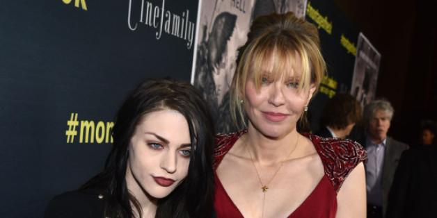 Francis Bean Cobain und ihre Mutter Courtney Love