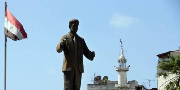Une statue de Hafez el-Assad, le 24 septembre 2015 à Lattaquié, en Syrie.