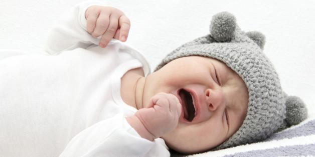 Babys sehnen sich nach körperlicher Nähe.