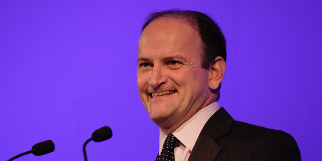 DONCASTER, ENGLAND - SEPTEMBER 26:  Douglas Carswell MP speaks to party members and supporters during the UK Independence Party annual conference on September 26, 2015 in Doncaster, England. After increasing their vote share following the May General Election campaign, the UKIP conference this year focussed primarily on the campaign to leave the European Union ahead of the upcoming referendum on EU membership.  (Photo by Ian Forsyth/Getty Images)