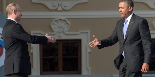 Putin (links) und Obama