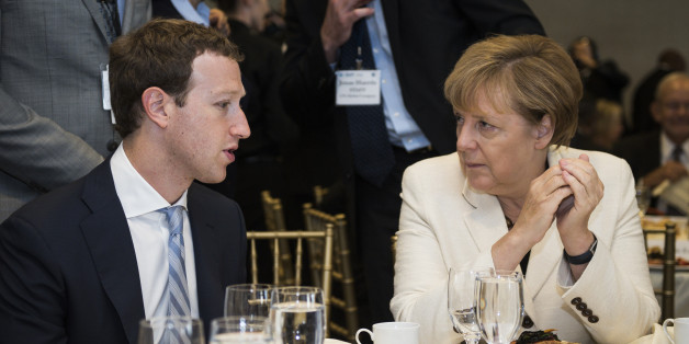 Angela Merkel trifft Mark Zuckerberg in New York