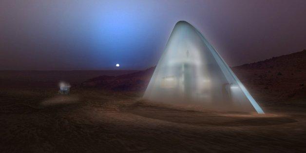 La Nasa a lancé il y a quatre mois un concours pour imaginer une maison 3D pour de futures missions habitées sur Mars.