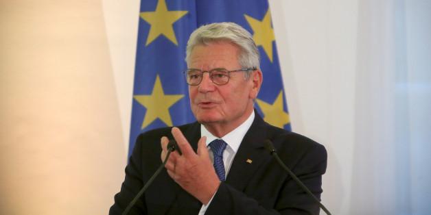Bundespräsident Joachim Gauck auf der Interkulturellen Woche