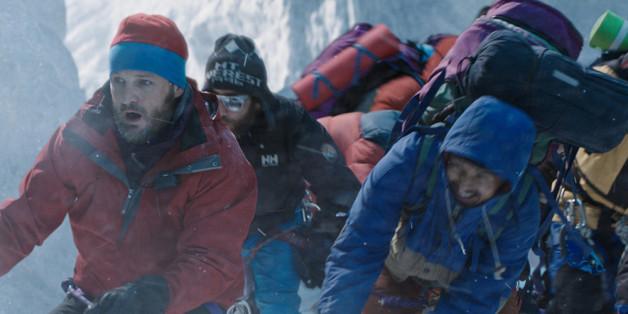 """Für """"Everest"""" begab sich der prominente Cast um Jason Clarke in große Gefahr"""