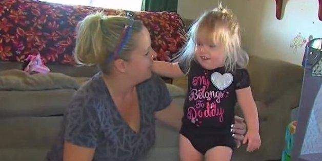 Dianne Hoffmeyer mit ihrer Tochter