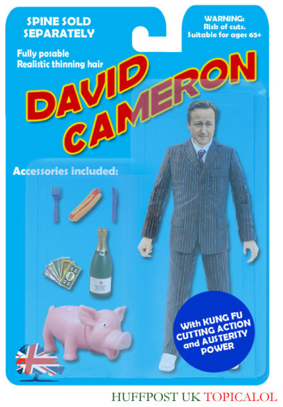 david cameron doll action figure