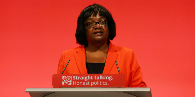 Diane Abbott, Shadow International Development Secretary Diane Abgott delivers her speech during the second day of the Labour Party conference in the Brighton Centre in Brighton, Sussex.
