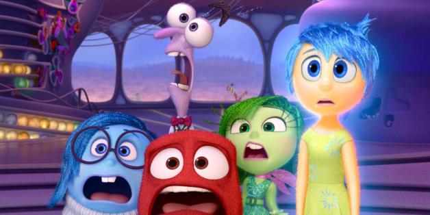 Gefühlswelt auf der Kinoleinwand: Alles steht Kopf
