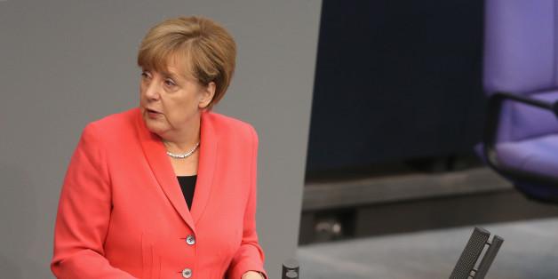 Reagiert nur: Angela Merkel