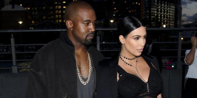 Hochschwanger: Kim Kardashian trägt ihr wohl schönstes Weihnachtsgeschenk schon jetzt mit sich herum