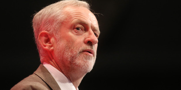 Jeremy Corbyn, leader of the U.K. opposition Labour Party, delivers his speech at the party's annual conference in Brighton, U.K., on Tuesday, Sept. 29, 2015. Corbyn, who ran for the Labour leadership with the original goal simply of raising issues, was propelled to the top of the party two weeks ago by activists enthused at his messages of nationalization, nuclear disarmament and higher taxes and public spending. Photographer: Chris Ratcliffe/Bloomberg via Getty Images