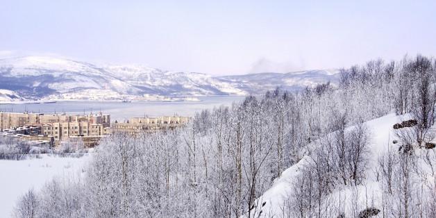 Die Gegend um Murmansk