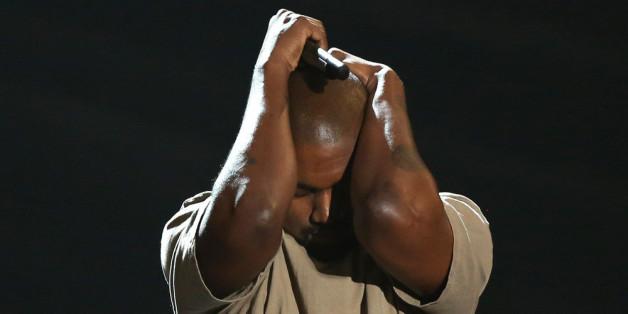 Kanye West bei den VMAs 2015