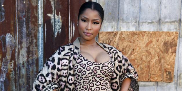 Nicki Minaj kann über sich selbst lachen