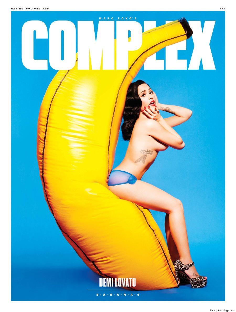 demi lovato complex magazine