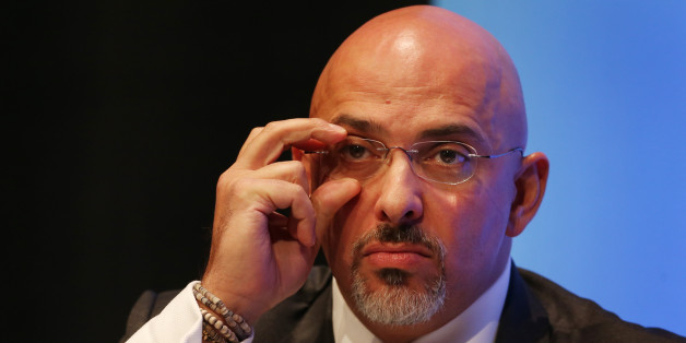 MP for Stratford on Avon Nadhim Zahawi adjusts his glasses during a discussion on 'The United Kingdom in Action' during the second day of the Conservative Party Conference