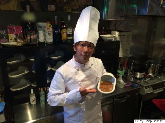 curry shop shimizu