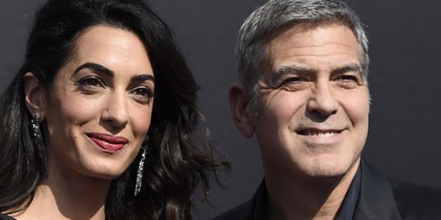 George Clooney und seine Frau Amal feiern Hochzeitstag