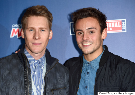 tom daley dustin lance black engaged