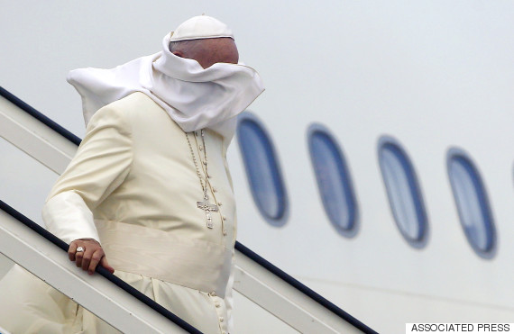 pope francis wind