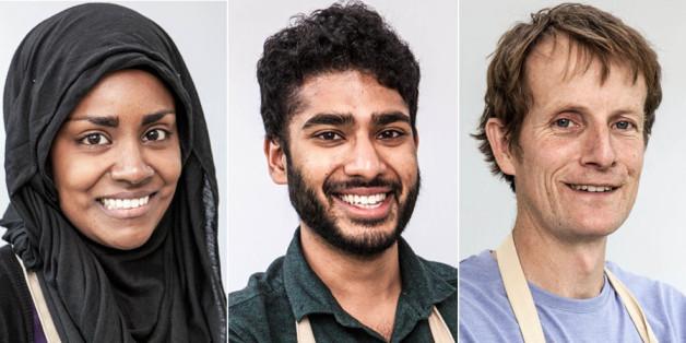 Nadiya, Tamal and Ian have reached the 'Bake Off' final