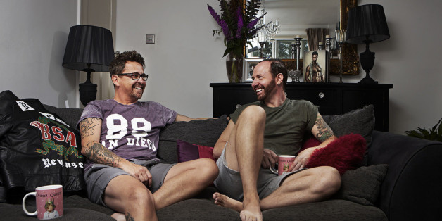 Stephen Webb and Chris Steed on 'Googlebox'